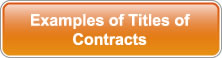 Examples of Titles of Contracts